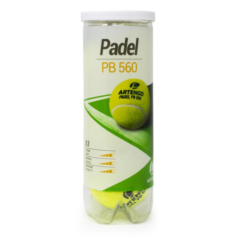 Pelotas de Pádel PB560 Amarillas