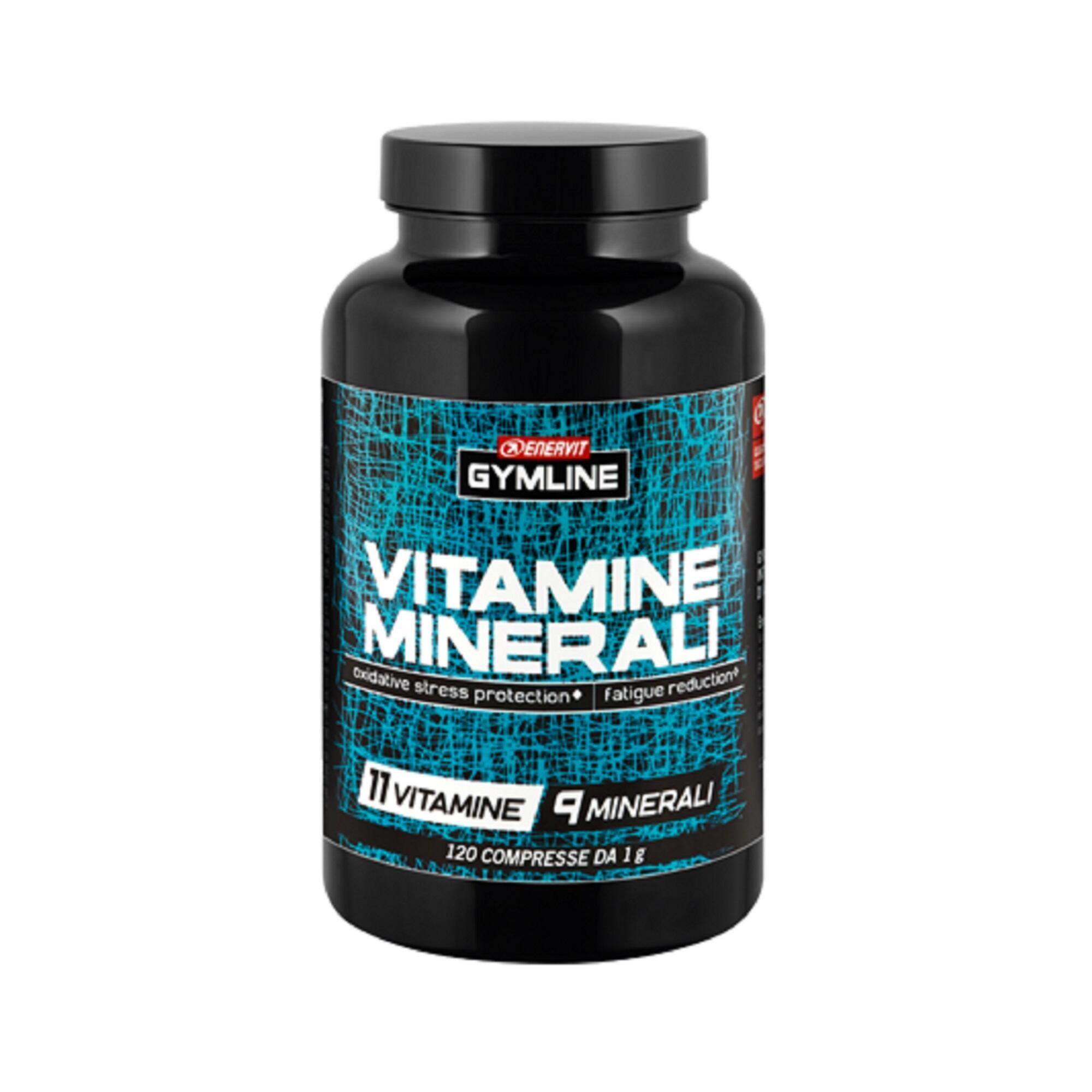 ENERVIT. Vitamine e Minerali 11 vitamine 9 minerali 120 compresse da 1g Enervit Gymline
