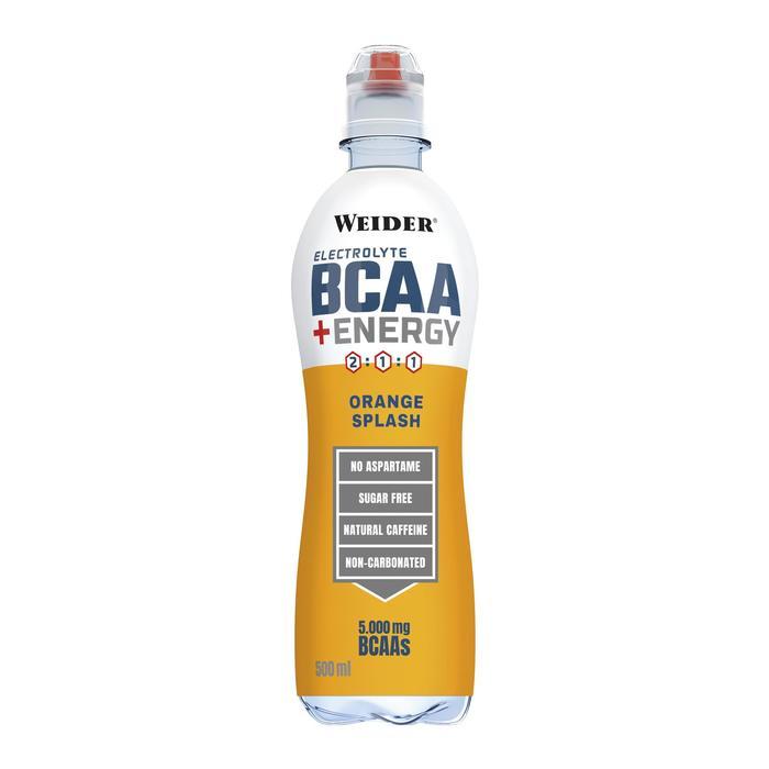 Bebida aminoácidos BCAA WEIDER lista para beber 500 ml sabor naranja