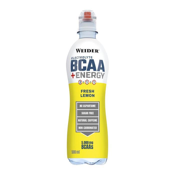 Bebida aminoácidos BCAA WEIDER lista para beber 500 ml sabor limón