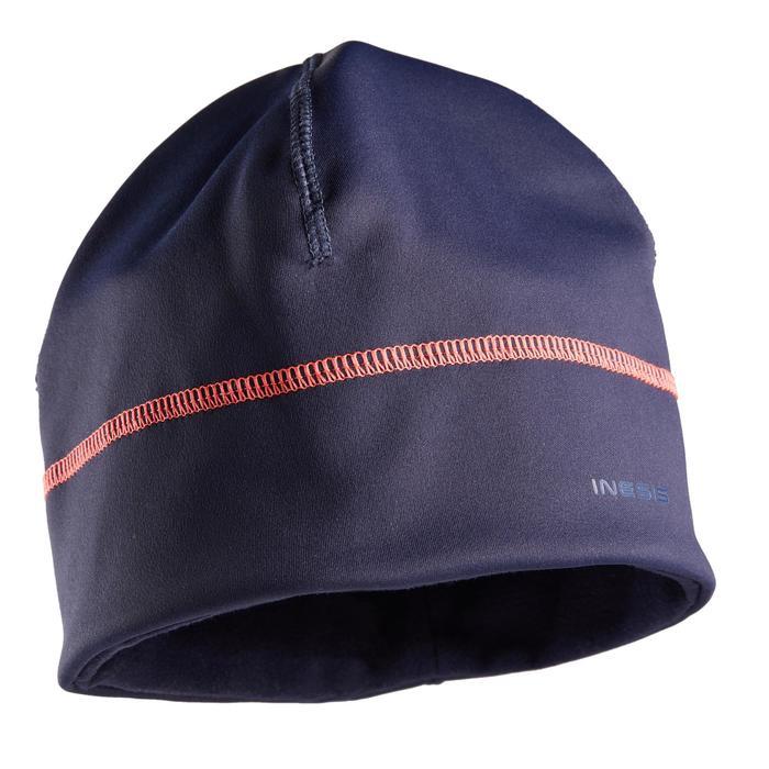 Golf Mütze warm Damen marineblau