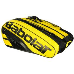Tennistas Babolat RH Pure Aero 12 rackets geel zwart