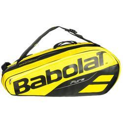 Tennistasche RH Pure Aero für 12 Schläger gelb/schwarz