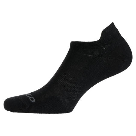 RS 160 Low Sports Socks Tri-Pack - Hitam