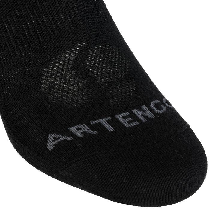 3雙入低筒網球運動襪RS 160-黑色