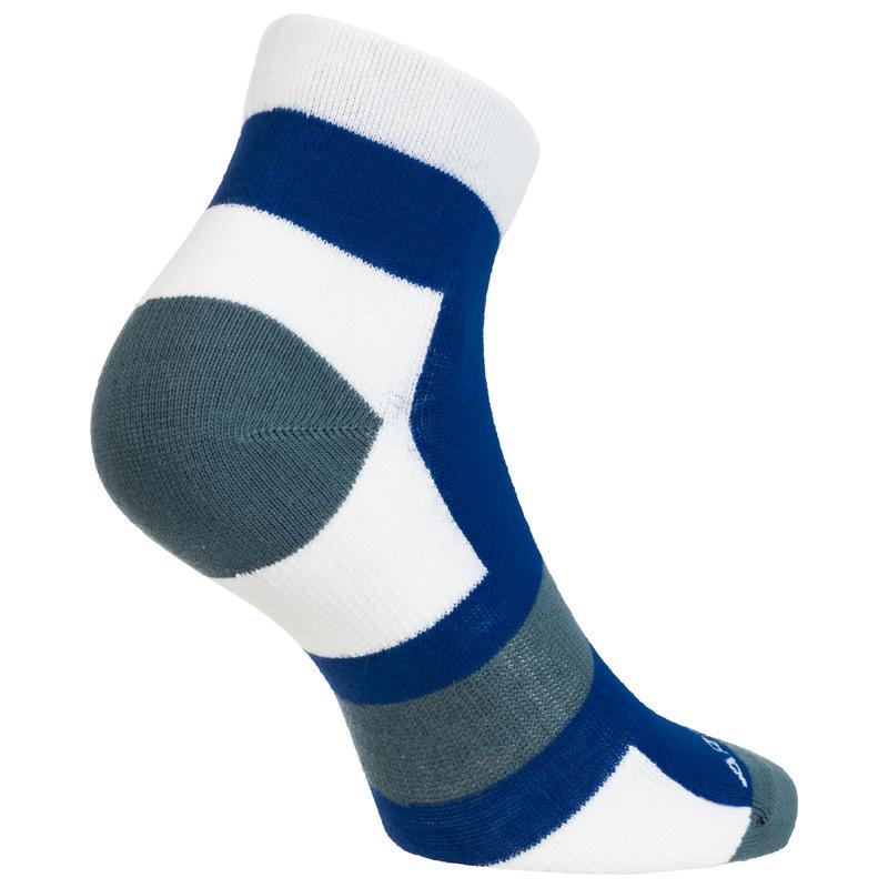 RS 160 Mid Sport Socks Tri-Pack - Grey/White/Blue
