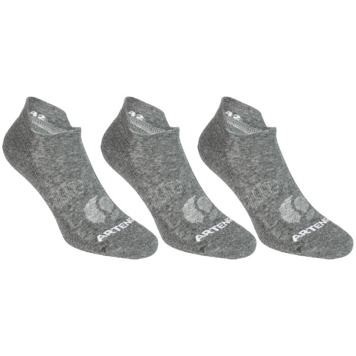 RS 160 Low Sports Socks Tri-Pack - Grey
