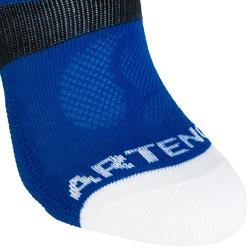 Tennissocken Sportsocken RS 160 High 3er Pack Kinder blau/weiß