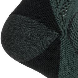 Tennissocken RS 900 Mid 3er-Pack kaki/schwarz