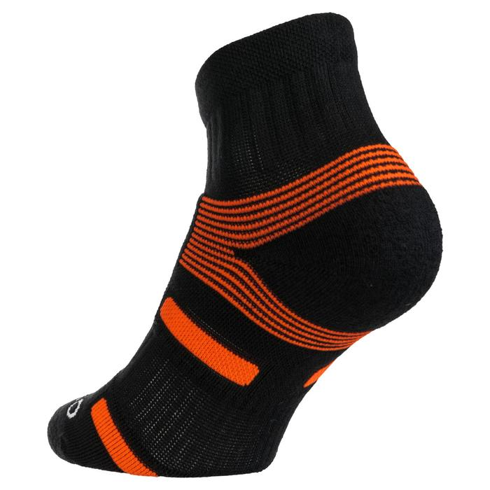 RS 560 Mid Sports Socks Tri-Pack - Black/Orange
