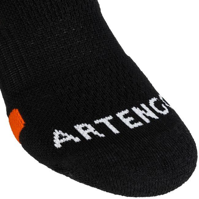 RS 560 Mid Sports Socks Tri-Pack - Black/Orange