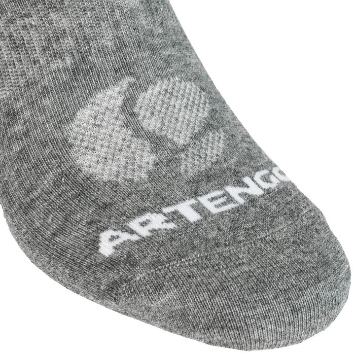 Tennissocken 160 Low 3er-Pack grau Artengo