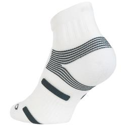 CALCETINES MEDIA CAÑA ADULTO ARTENGO RS 560 BLANCO GRIS LOTE DE 3 PARES