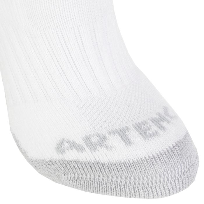 Kids' Mid Tennis Socks RS 500 Tri-Pack - White