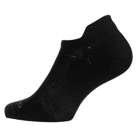 Low Tennis Socks RS 160 Tri-Pack - Black