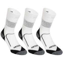 3雙入高筒襪RS 900-白色