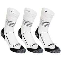 RS 900 High Sports Socks Tri-Pack - White