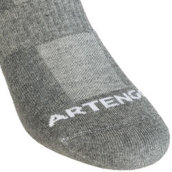 RS 500 Mid Sports Socks Tri-Pack - Grey