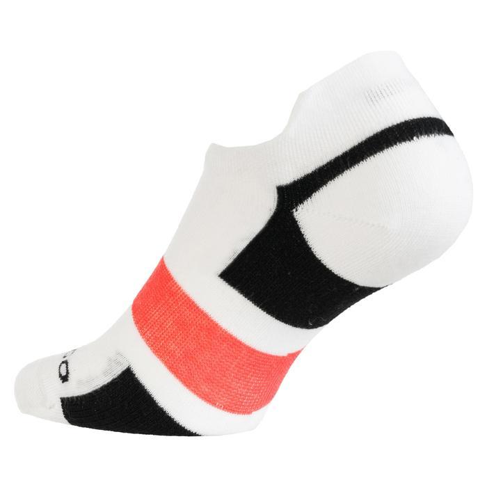 3雙入低筒運動襪RS 160–白色/黑色/粉紅色
