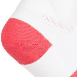 Tennissocken RS 160 Low 3er-Pack weiß/rosa