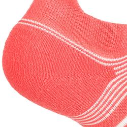 Tennissocken RS 560 Lowedge 3er-Pack rosa Artengo
