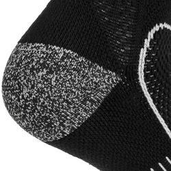 Halfhoge sportsokken voor volwassenen RS900 zwart/wit 3 paar