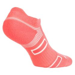 CHAUSSETTES DE SPORT LOWEDGE ARTENGO RS 560 ROSE LOT DE 3