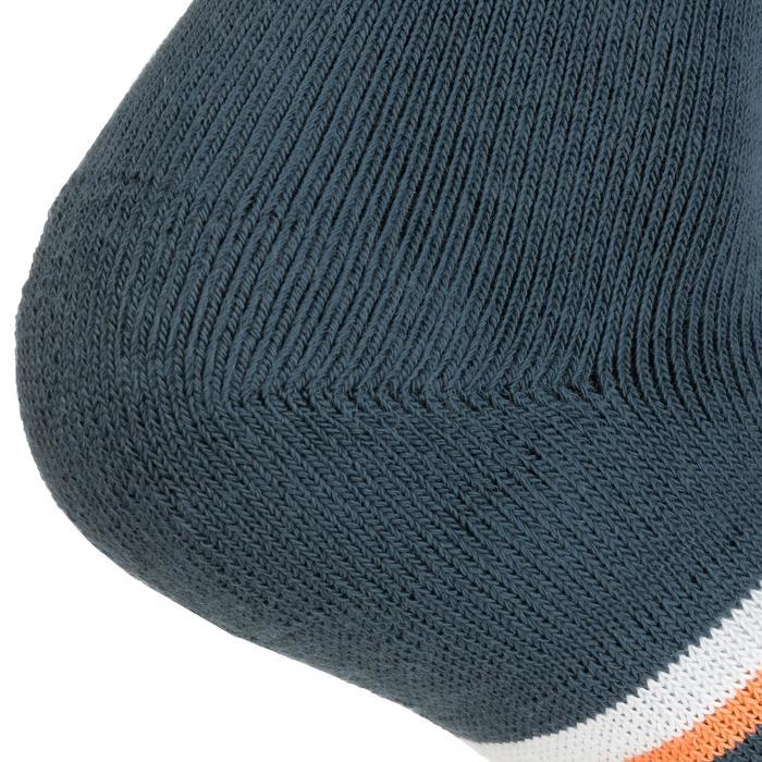 Tennissocken RS 500 High 3er-Pack grau/schwarz