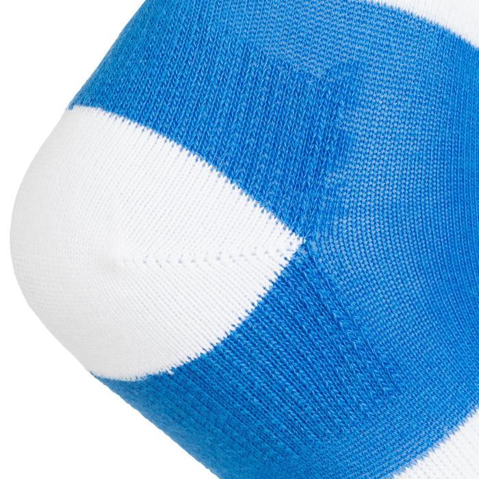 Halfhoge sportsokken voor kinderen Artengo RS 160 blauw wit 3 paar
