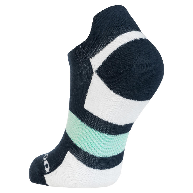 RS 160 Low Sports Socks Tri-Pack - Navy/White/Green