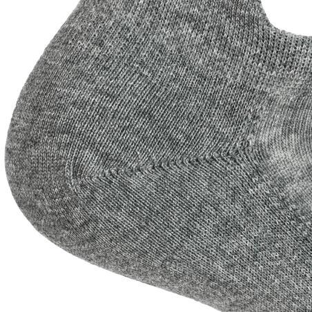 Socks Low Tennis RS 160 Tri-Pack - Grey