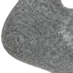 CHAUSSETTES DE TENNIS BASSES ARTENGO RS 160 GRIS LOT DE 3