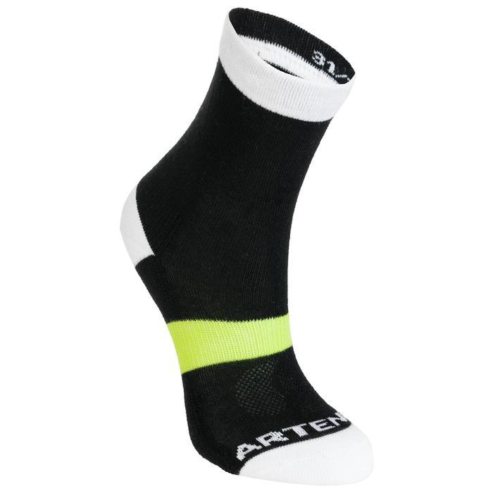 Sokken voor kinderen RS 160 x3 zwart wit