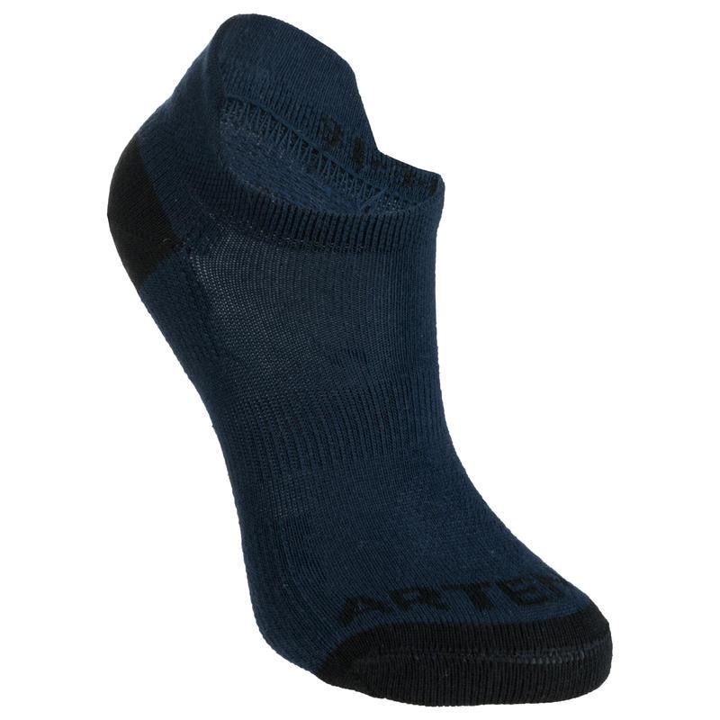 RS 160 Kids' Low Sports Socks Tri-Pack - Navy