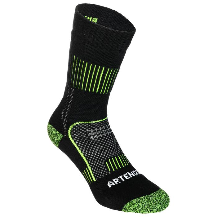 Tennissocken RS 900 High 3er Pack schwarz/gelb