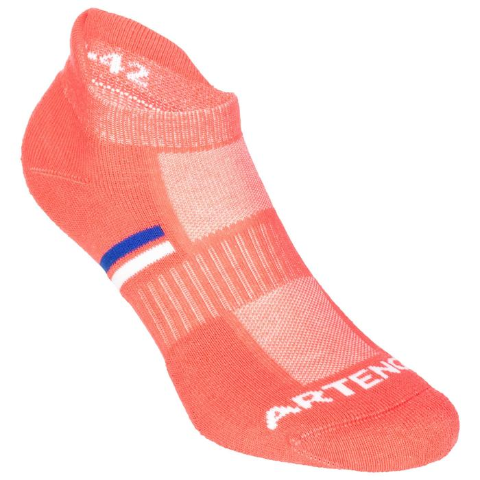 Tennissocken RS 500 Low 3er-Pack rosa/blau/weiß Artengo