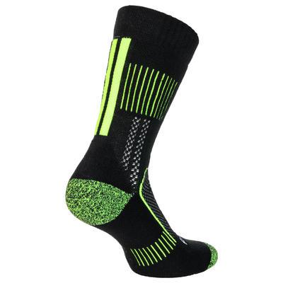 Високі спортивні шкарпетки RS 900, 3 пари - Чорний/Жовтий