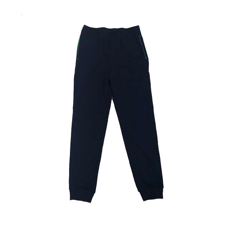 ABBIGLIAMENTO PESANTE BAMBINA Ginnastica, Pilates - Pantaloni leggeri bambina blu DECATHLON - Ginnastica, Pilates