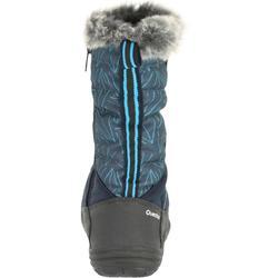 Botas de nieve niños talla 28-38 SH900 cálidas e impermeables azul