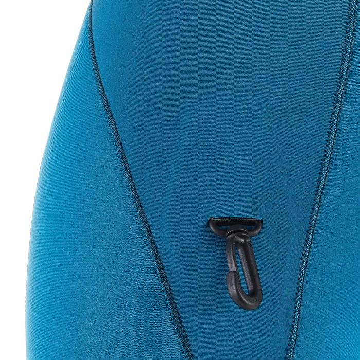 Neoprenanzug Shorty SCD 500 Neopren 3 mm Damen hellblau