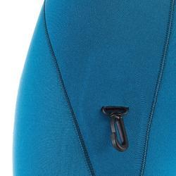 Shorty neoprene de plongée bouteille SCD 500 3mm Femme Bleu ciel