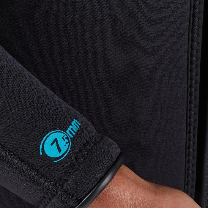 Damesduikpak SCD 100 voor diepzeeduiken 7,5 mm neopreen koud water
