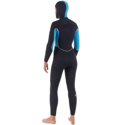 Women's neoprene SCD scuba diving suit 100 5 mm with front zip