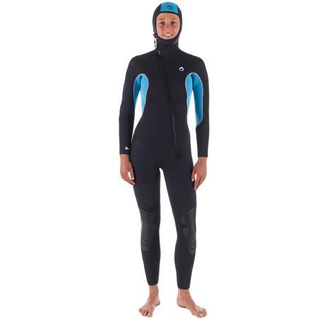SCD100 scuba diving wetsuit - Women