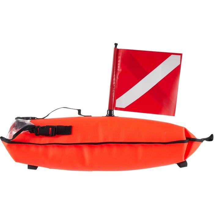 Bouée tube sac étanche de signalisation de chasse sous-marine SPF 500