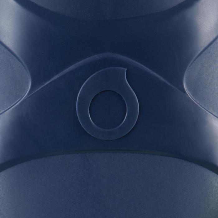 Palmes de plongée bouteille SCD 100 FF Bleu/Jaune fluo