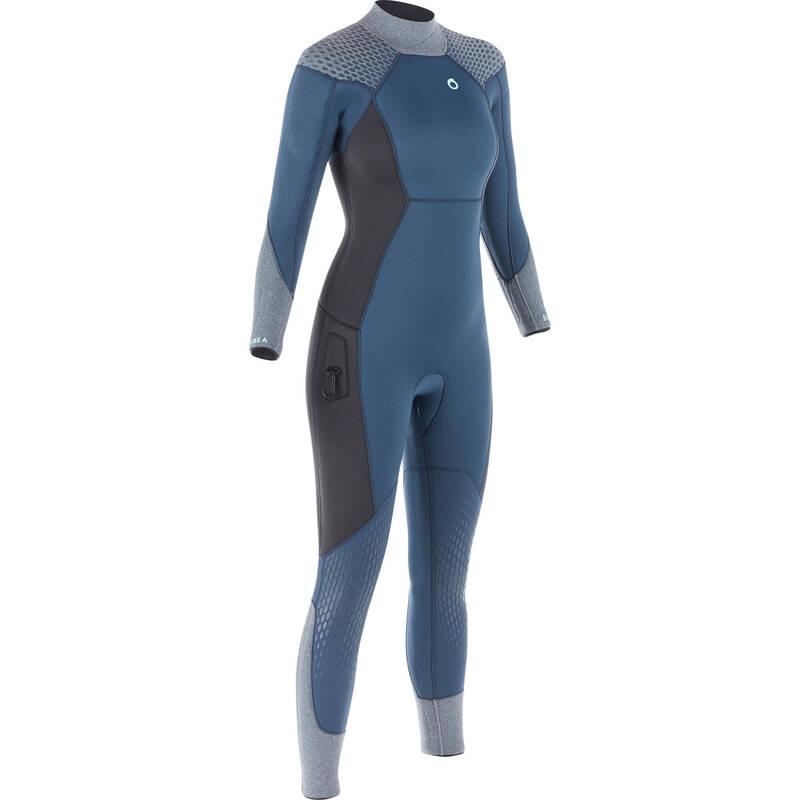 SCD SUITS 16/24° Potápění a šnorchlování - DÁMSKÝ NEOPREN SCD 500 5 MM SUBEA - Potápění