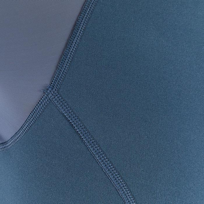 Snorkeltop SNK 100 voor dames 1,5 mm grijs groen