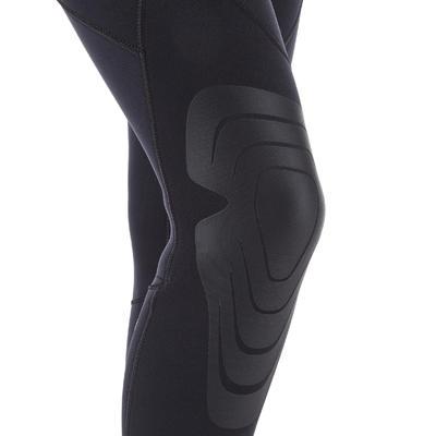 Women's neoprene SCD scuba diving suit 100 5 mm with front zip