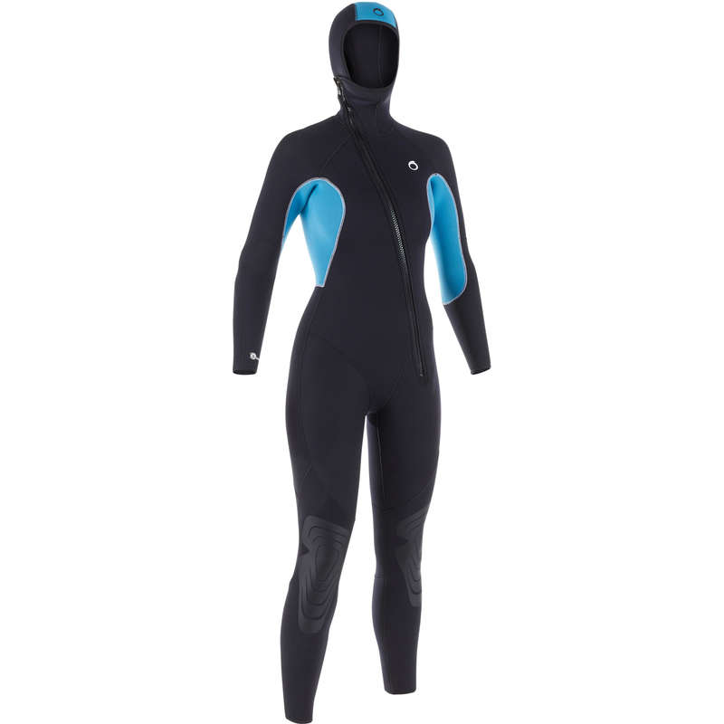 SCD SUITS 16/24° Scuba Diving - Women's SCD 100 5.5 mm wetsuit SUBEA - Scuba Diving